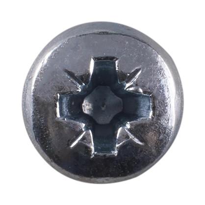 Винт с полукруглой головкой с гайкой и шайбой M4х20 мм 10 шт.