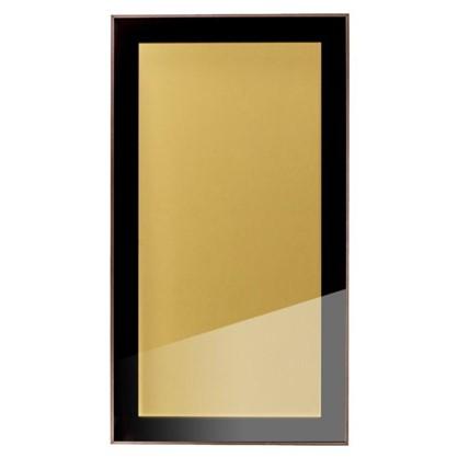 Витрина бронзовая 40х70 см алюминий/метакрил цвет коричневый
