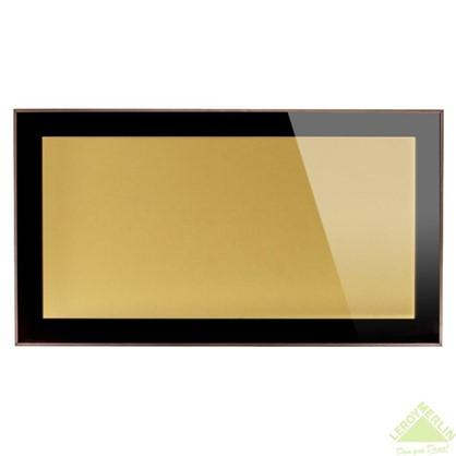 Витрина бронзовая 60х35 см алюминий/метакрил цвет коричневый