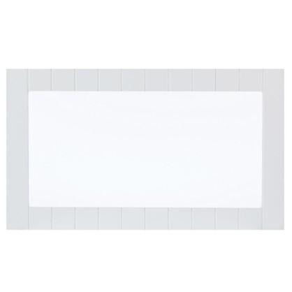 Купить Витрина Delinia Фенс 60х35 см МДФ цвет белый дешевле