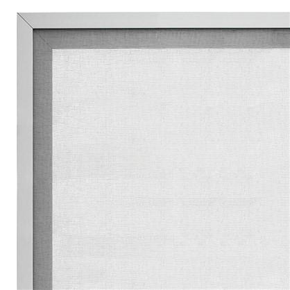 Витрина для шкафа Гауз 40х70 см алюминий/стекло цвет бежевый