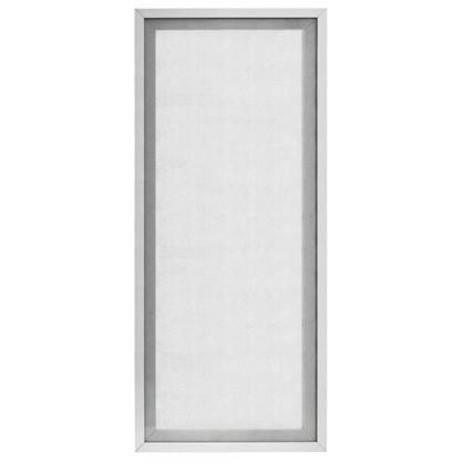 Витрина для шкафа Гауз 40x92 см алюминий/стекло цвет бежевый