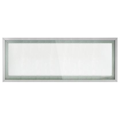 Витрина для шкафа Гексогон 80x35 см алюминий/стекло цвет бежевый
