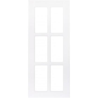 Витрина для шкафа Леда белая 40х92 см