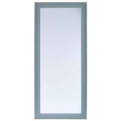 Витрина Фрост 40х70 см алюминий/стекло цвет матовый алюминий