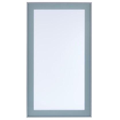 Витрина Фрост 40х92 см алюминий/стеклоцвет матовый алюминий