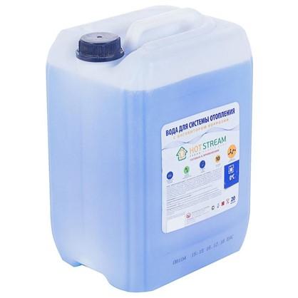 Вода с антикоррозийной присадкой Hot Stream 20 л