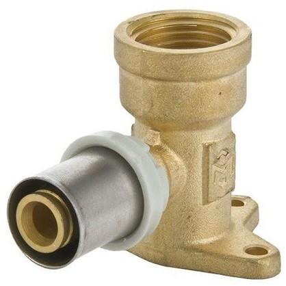 Водорозетка пресс Minkor внутренняя резьба 16x1/2 мм латунь
