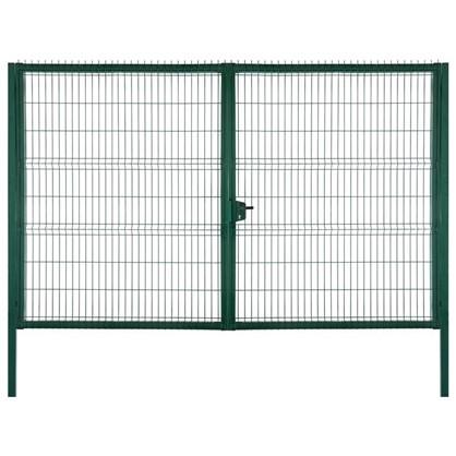Купить Ворота RAL 6005 Medium 2.03х3 м цвет зелёный дешевле