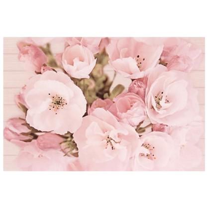 Вставка Sakura Цветок многоцветный 30x45 см