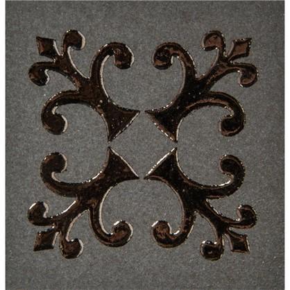 Вставка Тулуза 6х6 см цвет черный