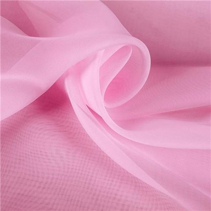 Купить Вуаль 1 п/м 295 см однотон цвет розовый дешевле