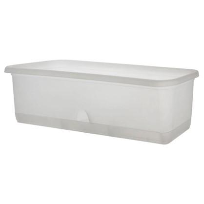Купить Ящик балконный для орхидей 60 см с поддоном прозрачный пластик дешевле