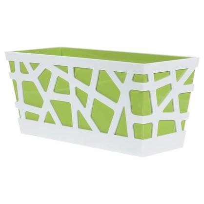 Купить Ящик балконный Мозаика цвет зелёный дешевле