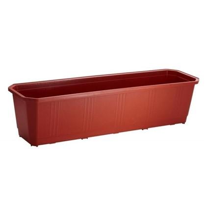 Ящик балконный терракот 60 см пластик