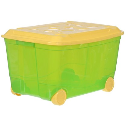 Ящик для игрушек на колесах 580х390х335 мм