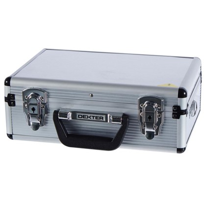 Ящик для инструмента Dexter 330х230х120 мм алюминий цвет серебро