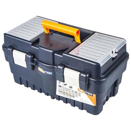 Купить Ящик для инструмента Dexter Formula A Alu500 462х242х256 мм пластик цвет синий дешевле