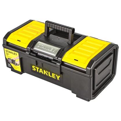 Ящик для инструмента Stanley 390х215х165 мм пластик цвет черный/желтый