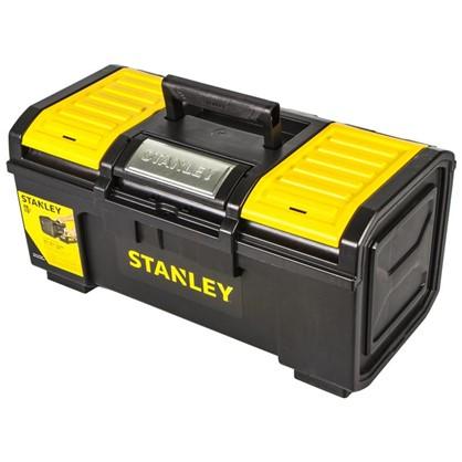 Ящик для инструмента Stanley 480х266х236 мм пластик черный/желтый