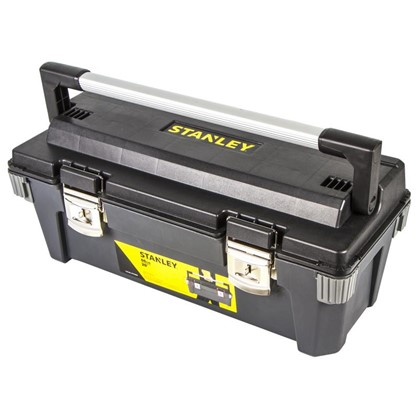 Ящик для инструмента Stanley 645х273х269 мм пластик цвет черный