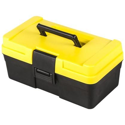 Купить Ящик для инструмента Systec 151х125х285 мм пластик цвет черно-желтый дешевле
