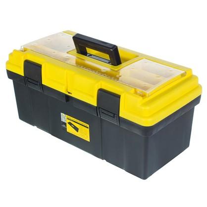 Ящик для инструмента Systec 240х230х500 мм пластик цвет черно-желтый