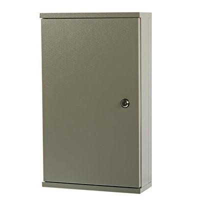 Купить Ящик коттеджный с DIN-рейкой Мэк 520x310x120 мм металлический дешевле