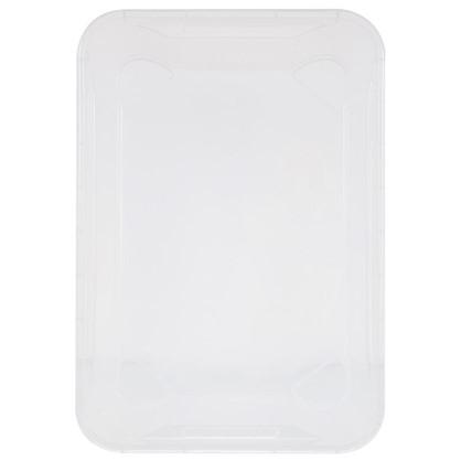 Ящик Кристалл 39х29x56 см пластик цвет прозрачный