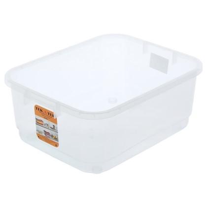 Ящик многофункциональный 42x16.5x32 см пластик цвет прозрачный