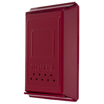Ящик почтовый с замком цвет вишня