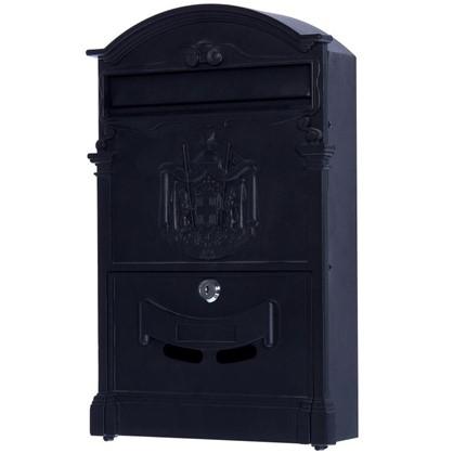 Ящик почтовый Standers MB-002 алюминий/сталь цвет чёрный