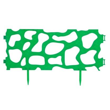 Забор Рельефный декоративный 3.2 м цвет зелёный