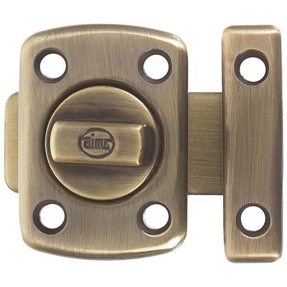Купить Задвижка механическая Amig Модель 388-30 30х42 мм сталь цвет бронза дешевле