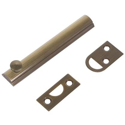 Задвижка механическая Amig Модель 600-100 100х17 мм сталь цвет бронза
