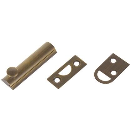 Задвижка механическая Amig Модель 600-60 60х17 мм сталь цвет бронза