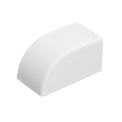 Заглушка 12/12 мм цвет белый 4 шт.