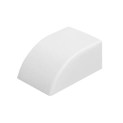 Заглушка 15/10 мм цвет белый 4 шт.