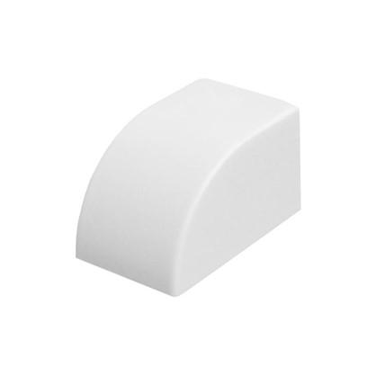 Заглушка 16/16 мм цвет белый 4 шт.