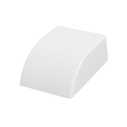 Заглушка 20/10 мм цвет белый 4 шт.
