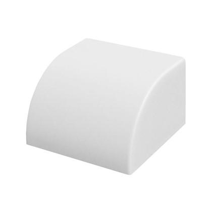 Заглушка 40/25 мм цвет белый 4 шт.