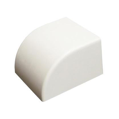Купить Заглушка 40/60 мм цвет белый 2 шт. дешевле