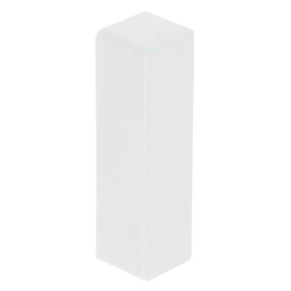 Заглушка 74х20 мм цвет белый 4 шт.