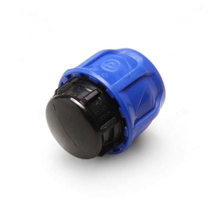 Заглушка цанговая для полиэтиленовой трубы 25 мм полиэтилен