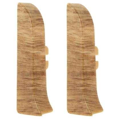 Заглушка для плинтуса левая и правая Artens Гроссето 65 мм 2 шт.