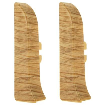 Купить Заглушка для плинтуса левая и правая Artens Мачерата 65 мм 2 шт. дешевле