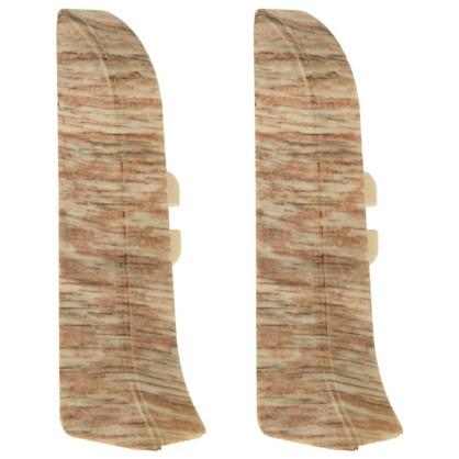 Заглушка для плинтуса левая и правая Artens Верона 65 мм 2 шт.