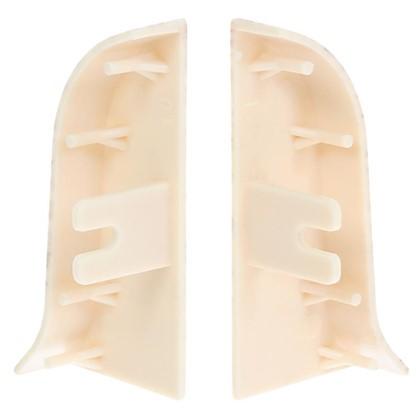 Купить Заглушка для плинтуса левая и правая Дуб Арктический 55 мм 2 шт. дешевле