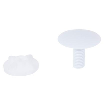 Заглушка для раковины цвет белый