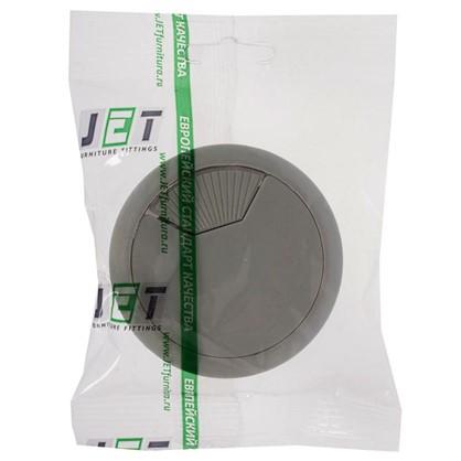 Купить Заглушка кабель-канала Jet AR308P.060GR99 60 мм пластик цвет серый дешевле
